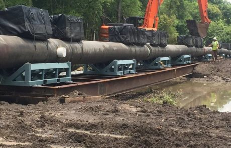 Pipeline Construction - Atchafalaya Basin, LA